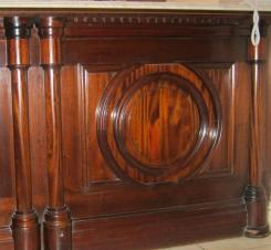Bolection moulding
